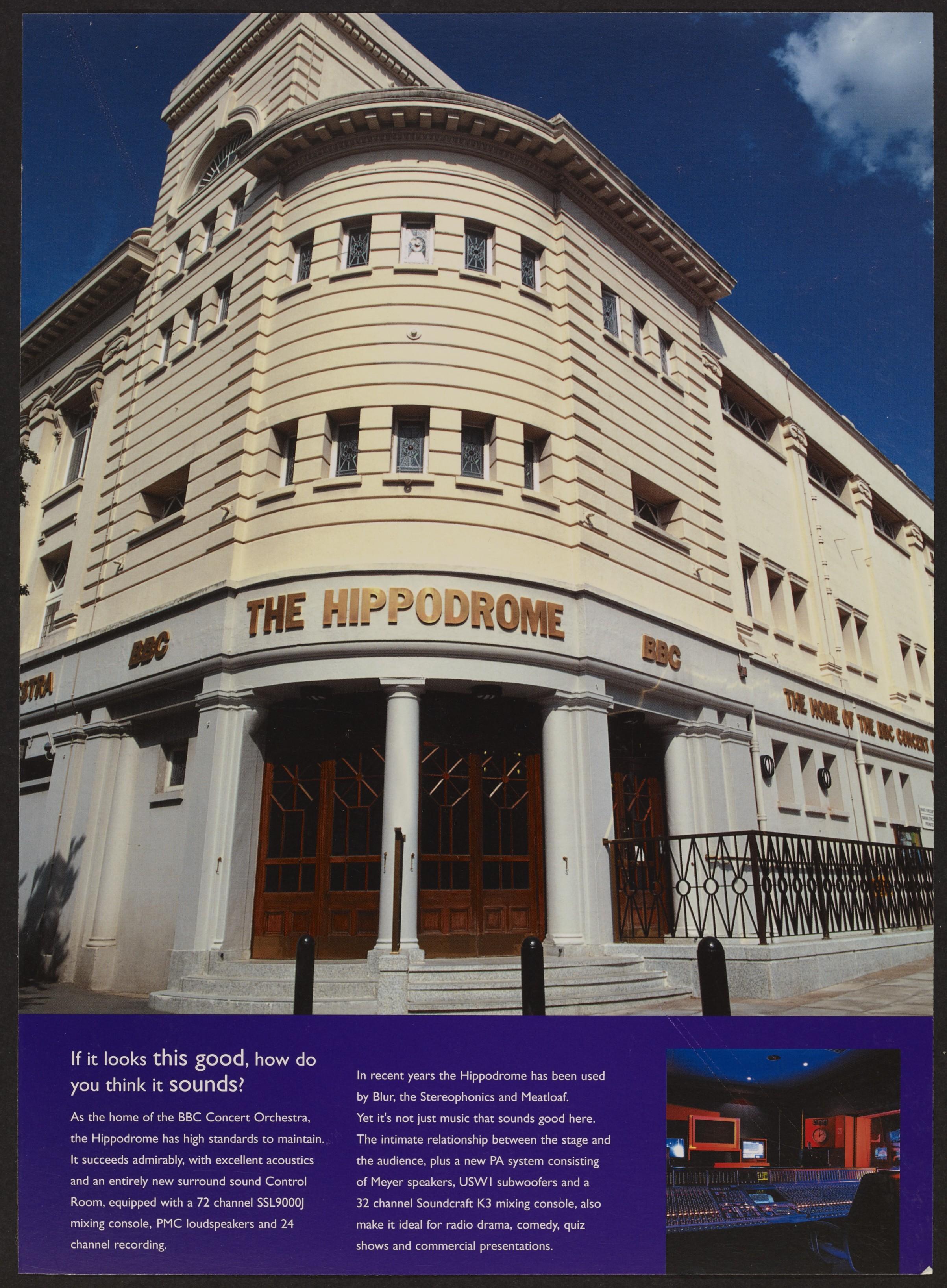 Hippodrome Re-Opens